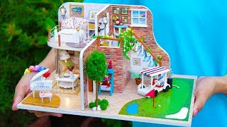 Video DIY Doll House with Golf Course MP3, 3GP, MP4, WEBM, AVI, FLV September 2019