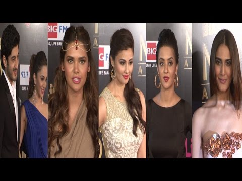 Isha Gupta, Surveen Chawla, Daisy Shah At Big Life Ok Now Awards 2014