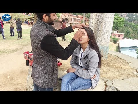 (PARBATI (MUSIC VIDEO ) || BINOD BANIYA (BEHIND THE SCENES) - Duration: 73 seconds.)