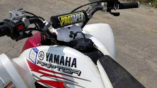 4. 2005 Yamaha Raptor 660 Special Edition For Sale From Saferwholesale.com