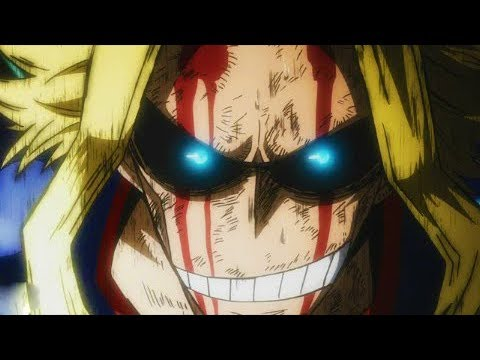 All For One vs One For All (ALL Might) - Boku No Hero Academia Season 3 - AMV (видео)