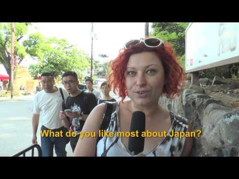 Travelers' Voice of Kyoto KINKAKU-JI Area Interview 001