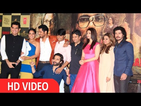 Aishwarya Rai Bachchan & Randeep Hooda Trailer Launch of Film Sarabjit