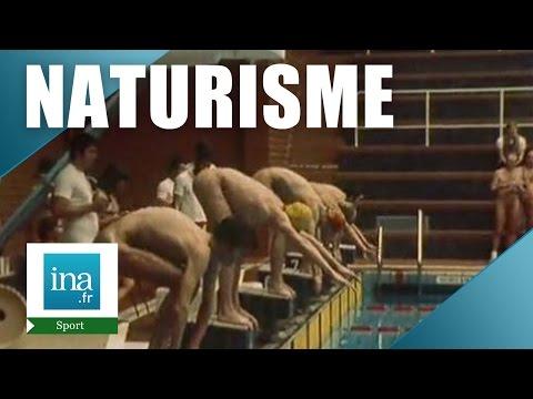 La natation naturiste   Archive INA
