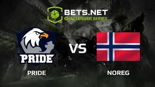 PRIDE vs NOREG, Bets.net Challanger Series