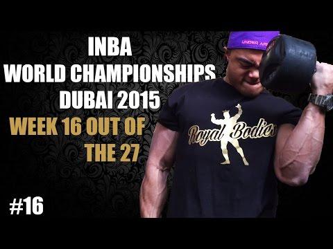 Pre-contest INBA Natural Bodybuilding World's Dubai 2015 – #16