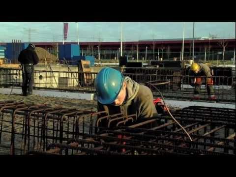 Allround betonstaalverwerker bouwplaats