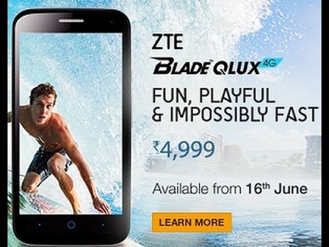 ZTE Blade Q Lux at 4999 full specifications