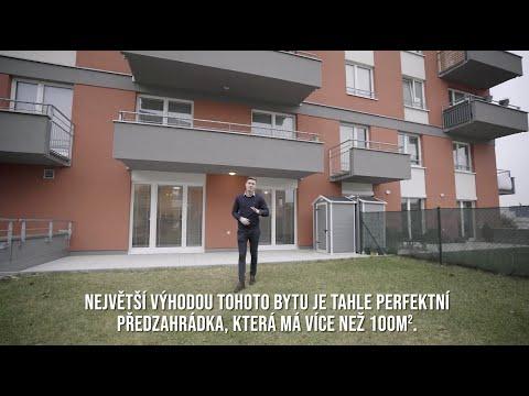 Video Prodej bytu (ateliéru) s velkou zatravněnou terasou