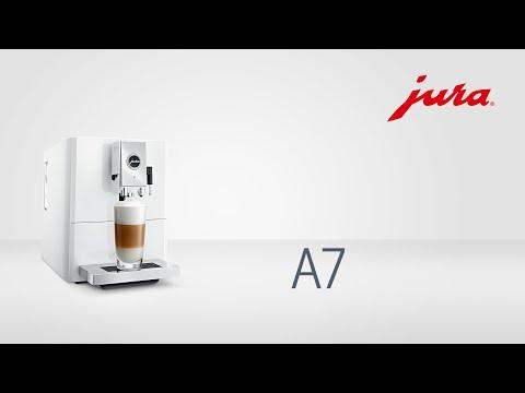 JURA A7 Piano White *Full option*