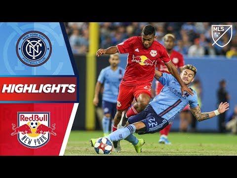 Video: NYCFC vs. New York Red Bulls | HIGHLIGHTS - August 24, 2019