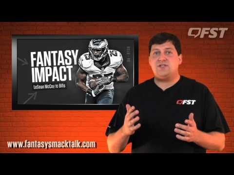 Fantasy Impact of LeSean McCoy to Buffalo thumbnail