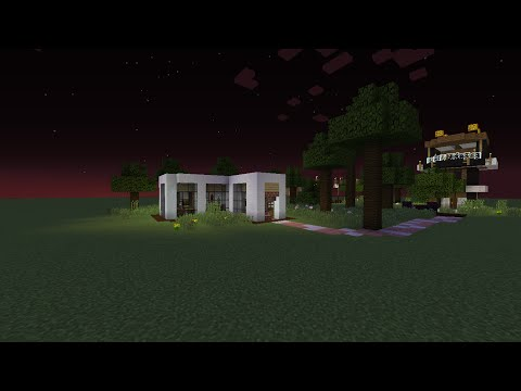 как сделать красивый дом в майнкрафте видео 2 часть #10