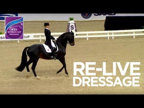 LIVE 🔴 | Dressage Grand Prix Gothenburg | FEI World Cup™ Dressage 2017/18 (видео)