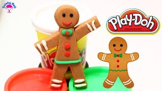 Play Doh Gingerbread Man Gingerbread Recipe: How to Make Gingerbread Man - YouTube