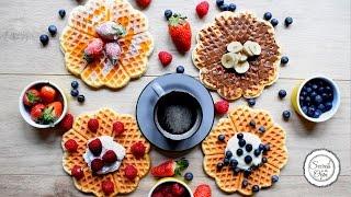 Ingin Sarapan Waffle? Ini Dia 4 Alternatif Pilihan Penyajiannya