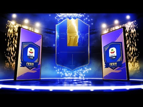 5X SERIE A TOTS GUARANTEED PACKS! INSANE TOTS PACKED! #FIFA19 ULTIMATE TEAM