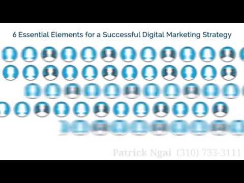 6 Essential Elements for a Successful Digital Marketing Strategy – January 2015