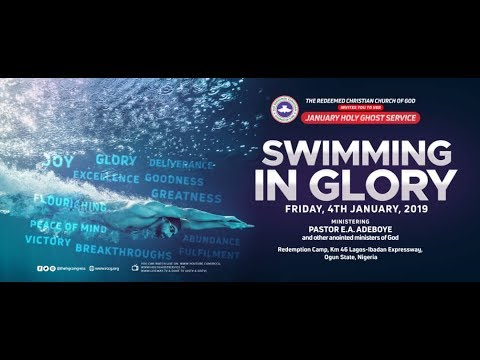 2019 January Holy Ghost  Service - #SwimmingInGlory
