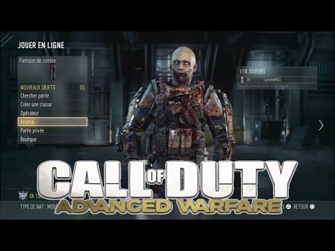 comment debloquer equipement call of duty advanced warfare