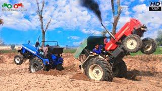 Sonalika vs swaraj tractor tochan by Nishu Deshwal