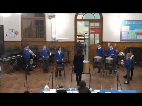 Cheshire East Schools' Music Competition 2016: Mablins Lane Community Primary School Samba Group