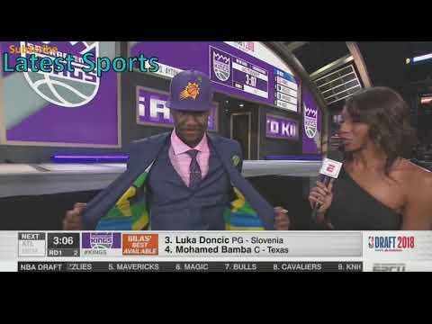 NBA Draft 2018 1st Pick - Deandre Ayton for the Phoenix Suns