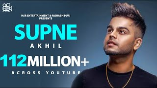 Video Supne - Akhil | Official | Full Video Song | Latest Punjabi Love Songs | Yellow Music MP3, 3GP, MP4, WEBM, AVI, FLV Juni 2019