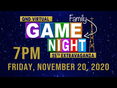 2020 QND EXTRAVAGANZA: Virtual Family Game Night