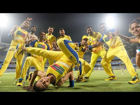 Chennai Super Kings Celebrations After Reaching Final IPL2018 | Dressing Room Celebration After Win