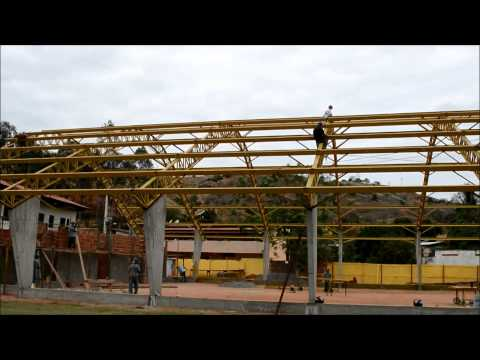 Construção de Quadra Poliesportiva em Alpercata