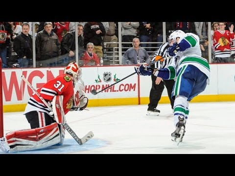 Canucks - Watch the shootout between the Vancouver Canucks and the Chicago Blackhawks on 12/20/13.