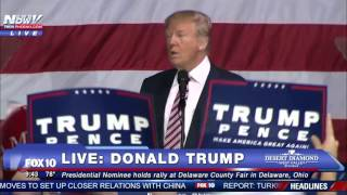 Delaware (OH) United States  city photos : Donald Trump RALLY in Delaware OHIO - 1ST SPEECH After Final Presidential Debate - FNN