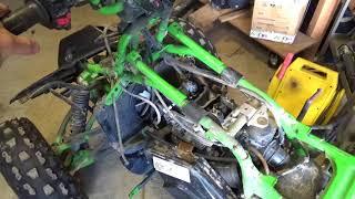 8. No Compression Kawasaki Mojave, cams and valve lash,