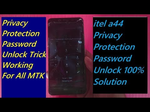 forgot privacy protection password, itell a44 Pravicy Protection Password Unlock
