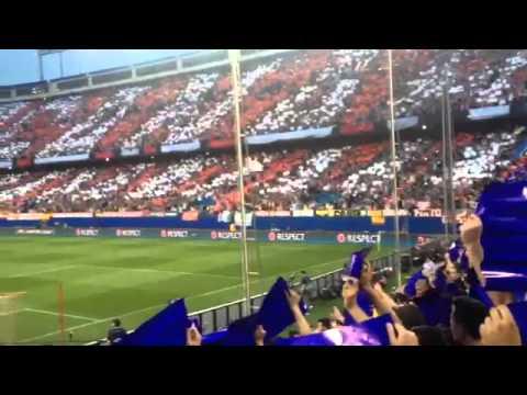 Video - TIFO FRENTE ATLETICO 1/4 CHAMPIONS VS BARCELONA 13/14 - Frente Atlético - Atlético de Madrid - España - Europa