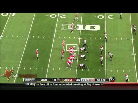 Taylor Decker vs San Diego St. 2013 video.