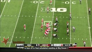 Jack Mewhort vs San Diego St (2013)