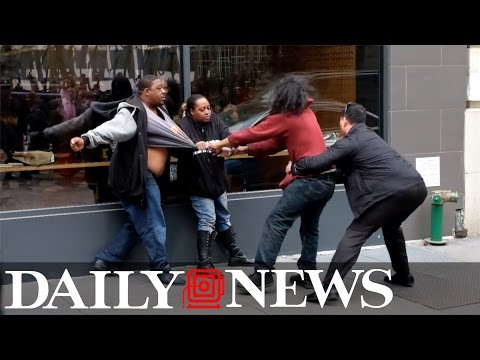 WATCH: Brawl Outside Midtown Chipotle Thursday