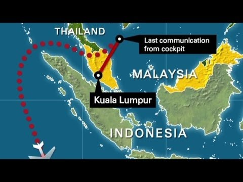 updated - Investigators conclude the plane flew around Indonesian airspace, a senior Malaysian government source tells CNN. More from CNN at http://www.cnn.com/ To lic...