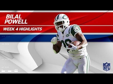 Video: Bilal Powell's Big Day w/ 163 Yards Rushing & 1 TD! | Jaguars vs. Jets | Wk 4 Player Highlights
