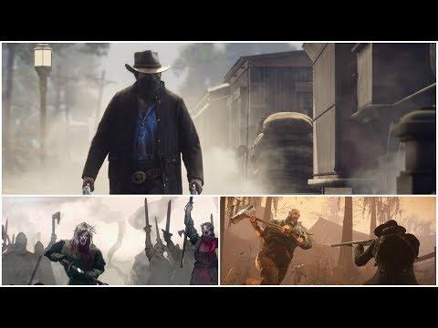 В Red Dead Redemption 2 будет своя Королевская Битва | Игровые новости