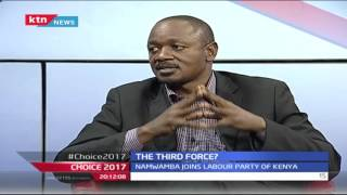 Choice 2017: The Third Force between Jubilee and CORD 27th September 2016