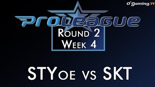 2015 Proleague : Round 2 - Week 4 - STYoe vs SKT