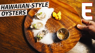 Hawaii's Kualoa Ranch Oysters at Mud Hen Water — Deconstructed by Eater