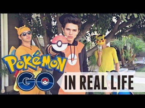 Pokémon Go In Real Life | Brent Rivera