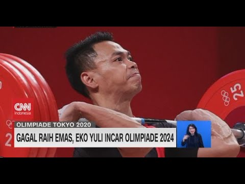 Gagal Raih Emas, Eko Yuli Incar Olimpiade 2024