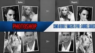 Como abrir 2 imagens ao mesmo tempo no Photoshop CS5 - serve em todos os photoshop!