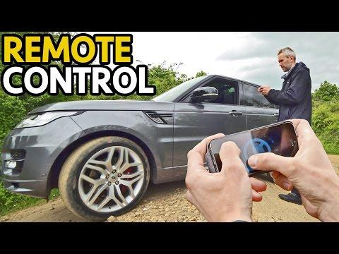 La nuova Range Rover  Sport si guida con lo smartphone