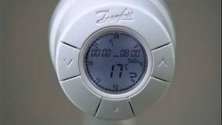 Danfoss living eco® justering af spareperiode (Dansk) - SW mindre end 1.26